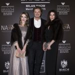 Ornella Muti and other stars at the Maurizio Braschi Fashion Show in Milan - March 2015