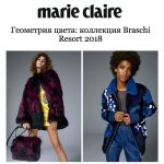 Presentation of Braschi Resort Collection on Marie Claire