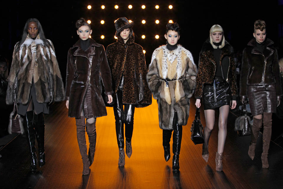 FASHION SHOW MILANO FEBRUARY 24th BRASCHI FUR COLLECTION