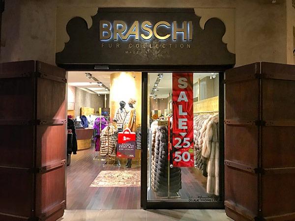 Бутик Braschi в Мадинате